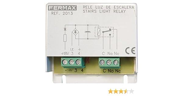 Fermax 2013 - Rele para iluminación suplem.escena o escalera: Amazon.es: Bricolaje y herramientas