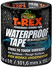 T-Rex Ferociously Strong Waterproof Tape, Black