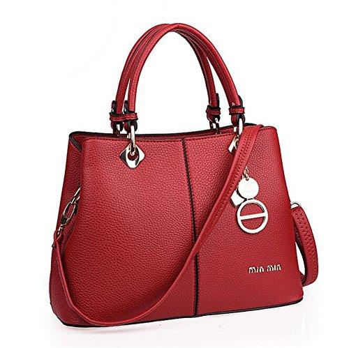 [VVeda European Style Fashion Design Female Handbags High Grade Bag£¨Red£] (Dance Costumes Australia Suppliers)