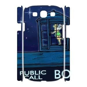 Samsung Galaxy S3 I9300 Case Cover, DDdiy Tinker Bell Custom 3D Case Cover for Samsung Galaxy S3 I9300
