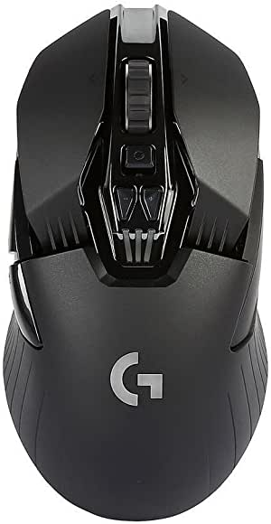 Logitech G900 Chaos Spectrum Professional Grade Wired/Wireless Gaming Mouse - Black