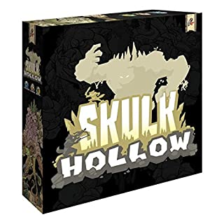 Skulk Hollow - Asymmetric, Tactical Combat Strategy 2 Player Game, Players Use Action Cards to Move Units, Summon, and Use Special Abilities, Ages 8 and Up, 40 Min Playing Time