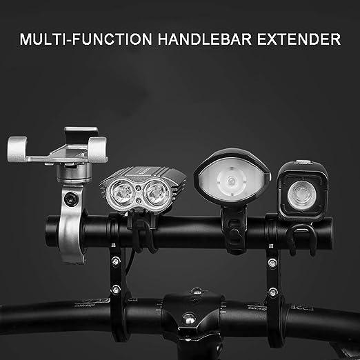 Details about  /Bike Flashlight Holder Handle Bar Bicycle Accessories Extender ujui TvNfU