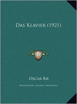 Das Klavier (1921)