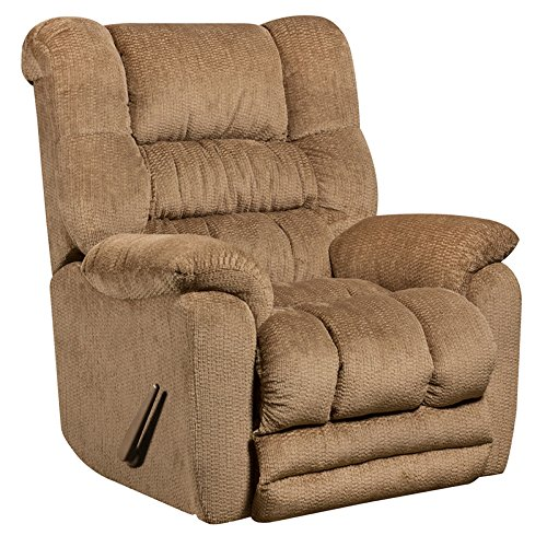 Winston Direct Comfort Series Contemporary Temptation Fawn Microfiber Rocker Recliner by Winston Direct
