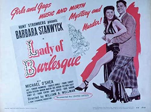 Image result for Lady of Burlesque 1943 poster