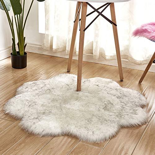vmree Super Soft Wool-Like Faux Fur Area
