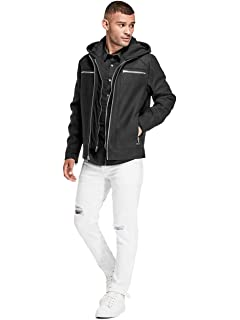G by GUESS Mens Ero Hooded Jacket