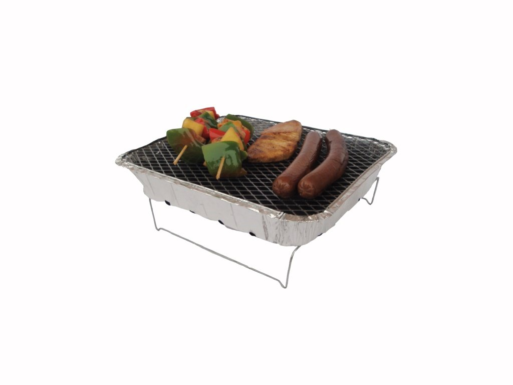 Pagoda Outdoor Disposable BBQ Barbecue With Stand