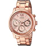 GUESS Women's U0330L2 Sporty Rose Gold-Tone