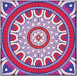 Photo Block Multi Colors Mandala Square Tableau 16 cmx16 cm - 2724806137477