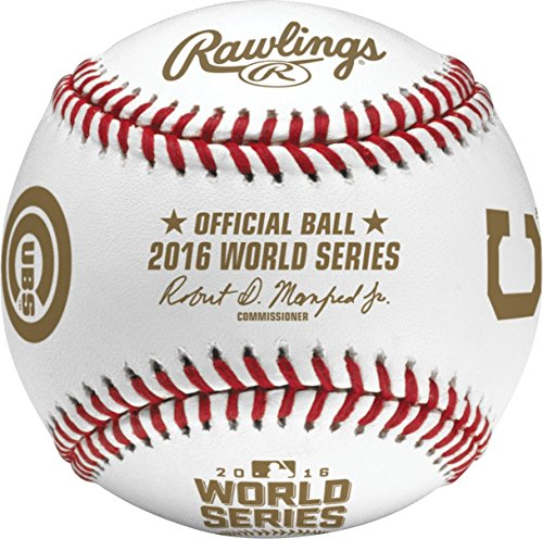 (Rawlings 2016 Official MLB World Series Game Baseball - Boxed)