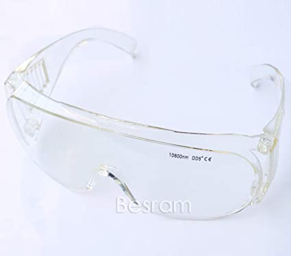 e8db9fe197 EP-4-6 CE Certificated OD5 10600nm CO2 Laser Safety Glasses Safety Goggles  Protection Laser Goggles protictive eyewear for 10.6um - - Amazon.com