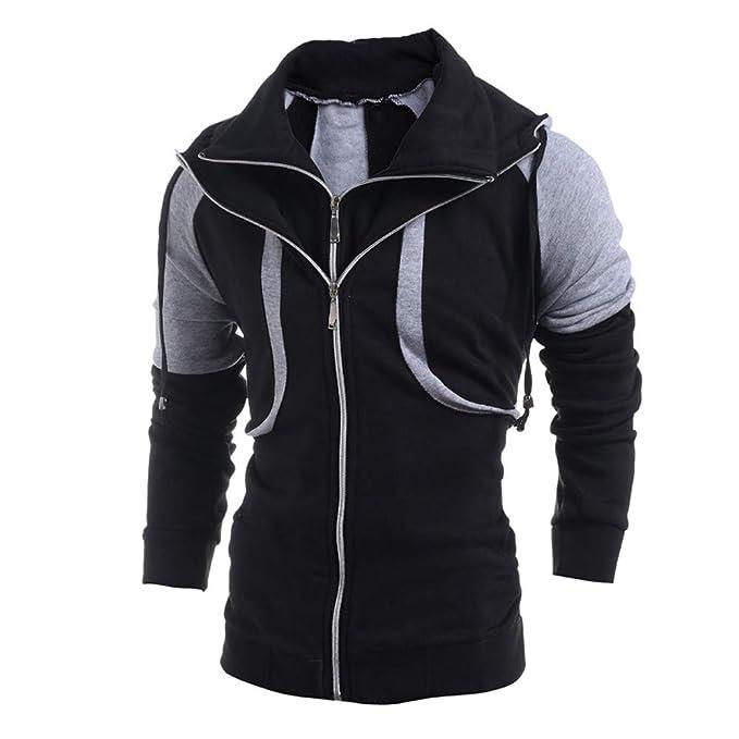 Bestow Moda para Hombre Delgado diseñado Solapa Chaqueta de Punto Abrigo Chaqueta Chaleco suéter: Amazon.es: Ropa y accesorios