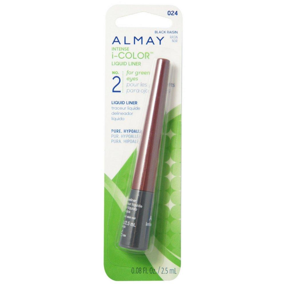 Almay intense i-color Play Up Liquid Liner, Raisin Quartz 024, 0.08-Ounce Packages (Pack of 2)