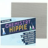 Chemistry Hippie | 6-pack Essential Oil Concentrate Filter | Ultra Strong 5x5 Inch Sheets | Micron Screens (150 micron stainless steel)
