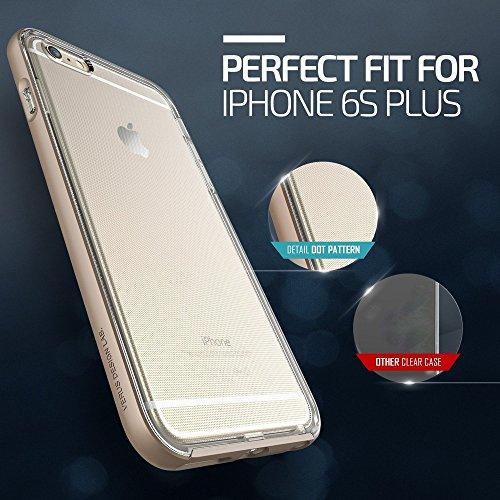VERUS V904236 Kristall Bumper Schutzhülle für Apple iPhone 6S Plus gold