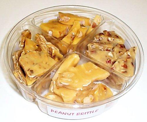 4 Pack of Assorted Brittle-Peanut, Pecan, Macadamia Nut, & Almond