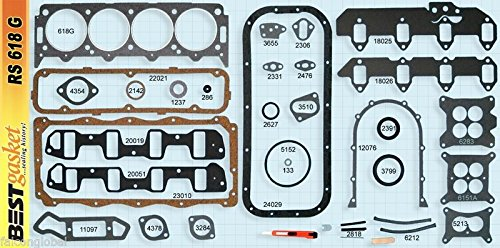 Lincoln+Mercury 383 410 430 462 MEL Full Engine Gasket Set BEST 58-68 (stock) by Falcon Performance