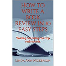How to write a book review in 10 easy steps: Reading and rating can reap real rewards.
