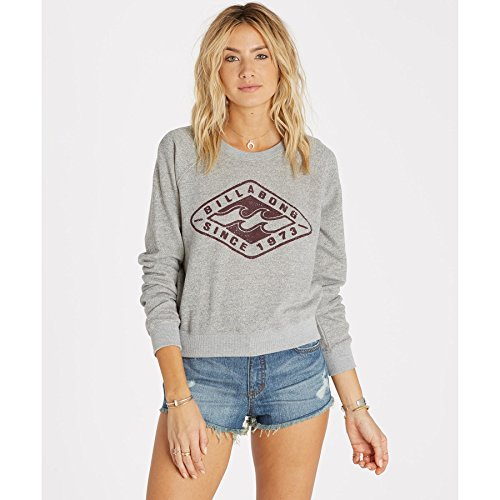 Billabong-Womens-Diamond-Heritage-Pullover-Fleece-Sweatshirt