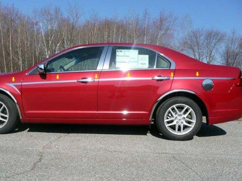 "2006-2012 Ford Fusion 12pc. Luxury FX Chrome 1"" Arrow Accent Trim"
