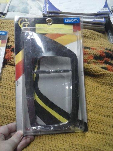 Chrome Plastic Door Handle Inside Release Bezel, R/h Kenworth ()