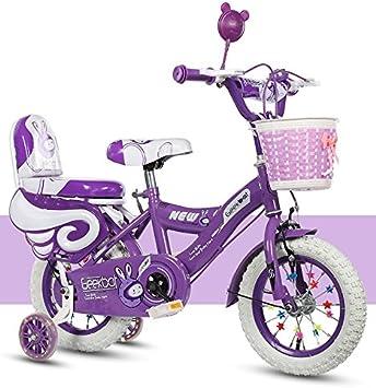 GEEKBOT Bicicleta niña 14 Pulgadas - Niño 4-9 años de Edad ...