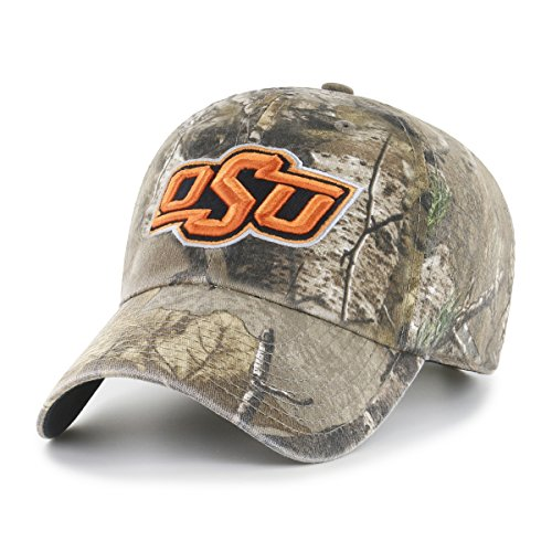 NCAA Oklahoma State Cowboys Realtree OTS Challenger Adjustable Hat, Realtree Camo, One ()