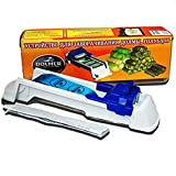 Multifunction Sushi Maker Machine Vegetables Meat Roller Helper Grape Cabbage Leaf Roller,Sushi Rolls Made Easy