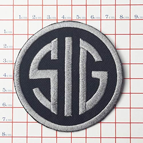 SNOW - 1 PC DIY New Guns/Firearms Gun Patch Collection - Great Quality # Sig Sauer - Sig Firearms