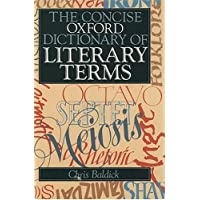 The Concise Oxford Dictionary of Literary Terms (Oxford Paperback Reference)