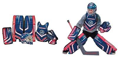 Amazon Com Warrior Street Hockey Goalie Boxed Set 24 In R Blocker