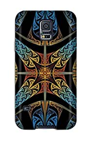 Forever Collectibles 4 Point Star Hard Snap-on Galaxy S5 Case