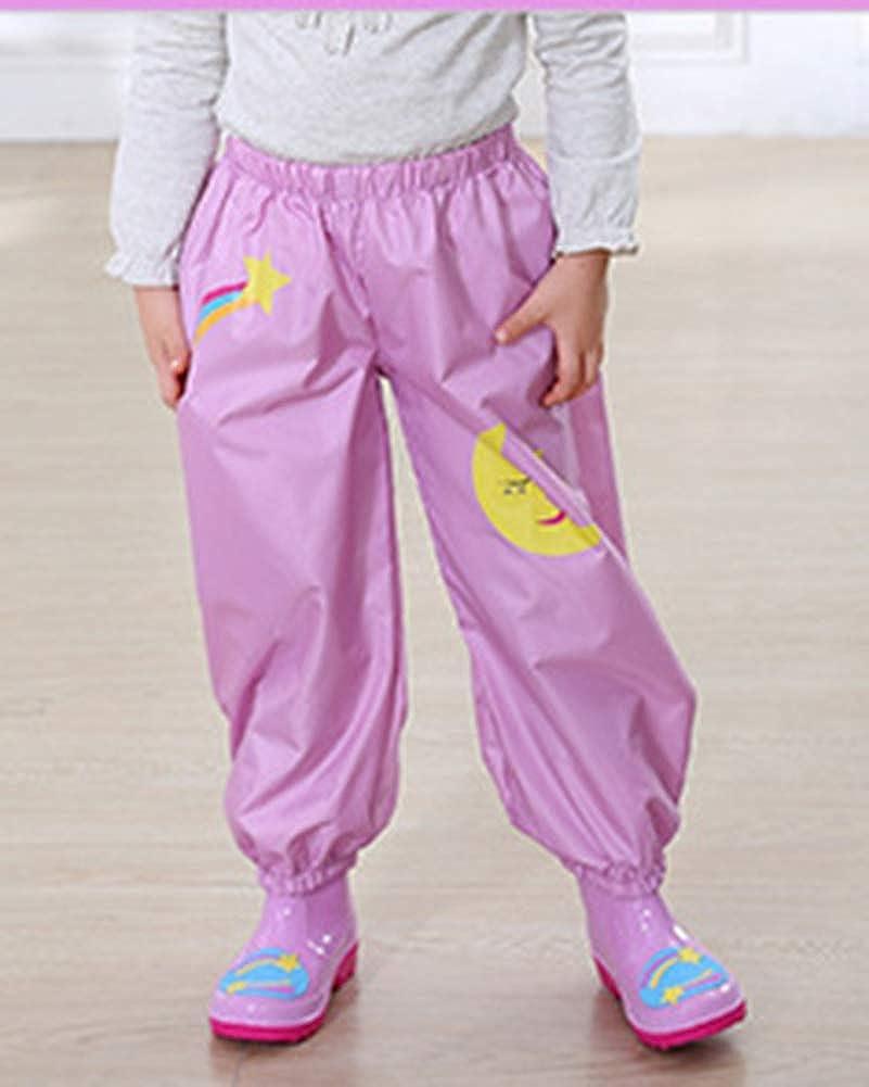 Pantalones Impermeables De Dibujos Animados Para Lluvia Ropa De Lluvia Para Ninos Y Ninas Jugar Al Aire Libre Chaquetas Impermeables