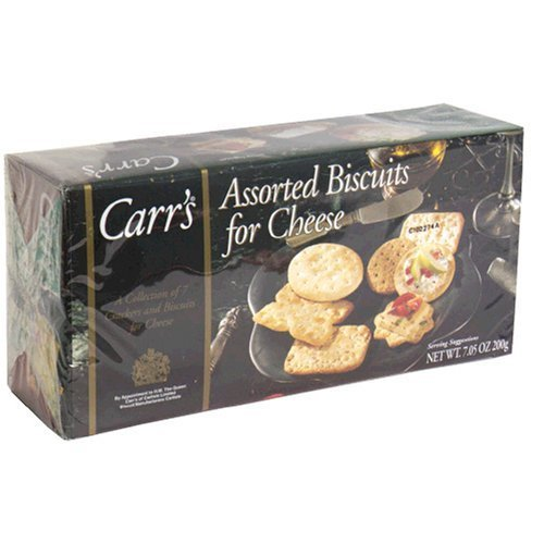 Carr'S Assorted Biscuits For Cheese Nine Varieties 7.05-Ounce Boxes (Pack Of 12)