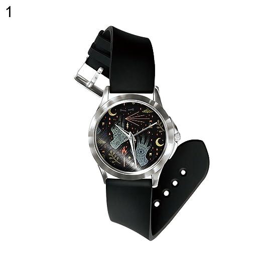 usaboutall halloween ghost skull series analog quartz wrist watch gift for boys girls 1