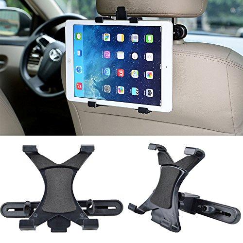 Universal Car Back SeatタブレットスタンドヘッドレストマウントホルダーのiPad 2 3 4 air2 Pro Mini 1 2 3タブレットSamsung PC Stands B077YFGC4M