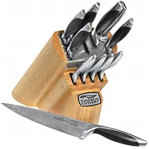 Chicago Cutlery Landmark 12-Piece Block Set