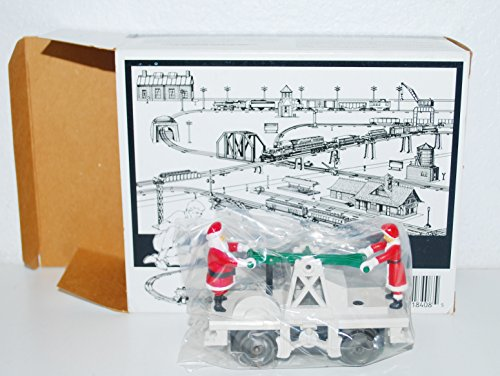 Lionel 6-18408 Santa Claus & Mrs. C operating handcar motorized Christmas by Lionel (Image #3)'