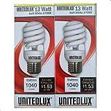 13 Watt (60 Watt) Compact Fluorescent Light, Soft