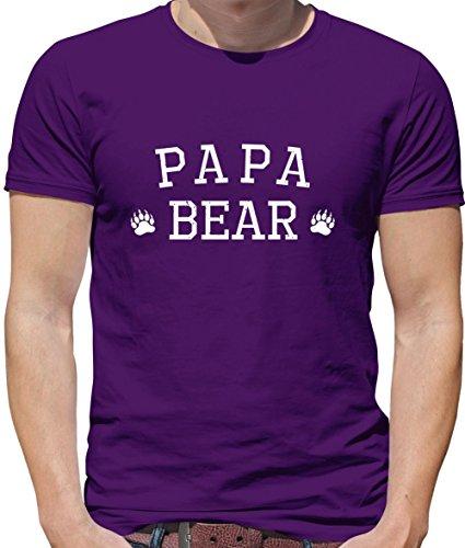 Bear shirt Violet T Homme Papa Couleurs 13 pattes Dressdown U5wzaq5
