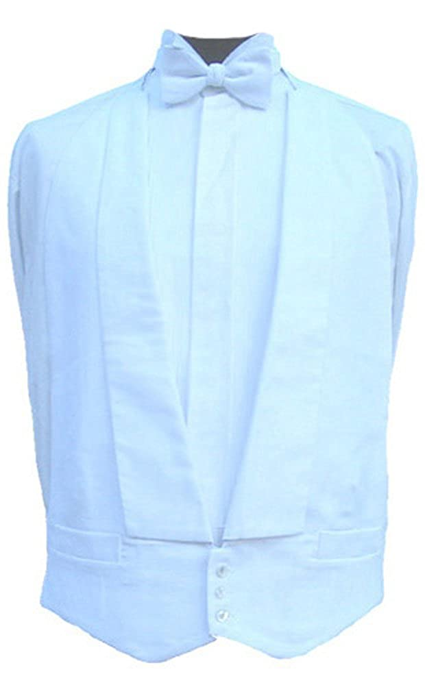 100% Cotton White Marcella Waistcoat - Made in UK Clermont Direct