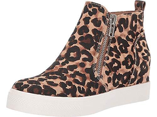 Steve Madden Women's Wedgie Shoe, Leopard, 8 M US