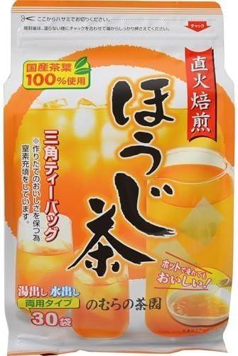 のむらの茶園 ほうじ茶 ティーバッグ 3g×30袋