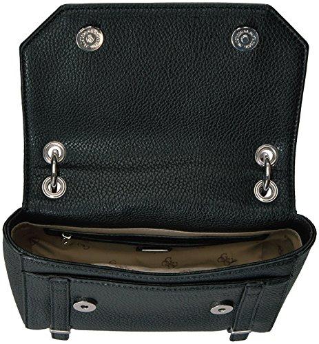 Guess Cross Body Tasche Flap Rikki HWVY5032180 Schwarz