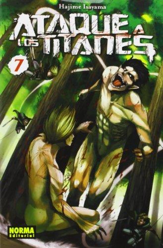 Descargar Libro Ataque A Los Titanes 7 Hajime Isayama
