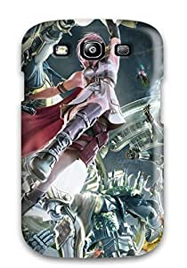 Galaxy S3 Case Cover With Shock Absorbent Protective VTgyNyF14202Cmsjj Case