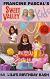 Lila's Birthday Bash, Francine Pascal, 0553482092