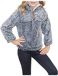 Girl S Fleece Jackets Coats Amazon Com